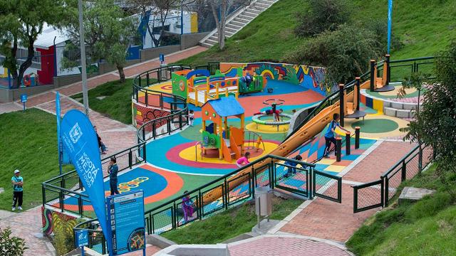 Parque 'Palermo Sur' en Rafael Uribe Uribe - Foto: Alcaldía de Bogotá