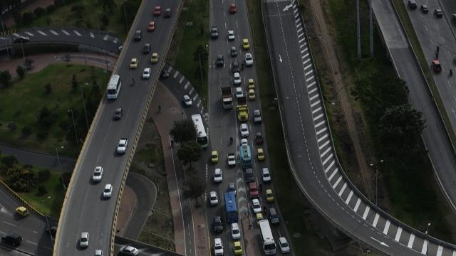 Sistema Inteligente de parqueo en Bogotá  - Foto: Comunicaciones Alcaldía