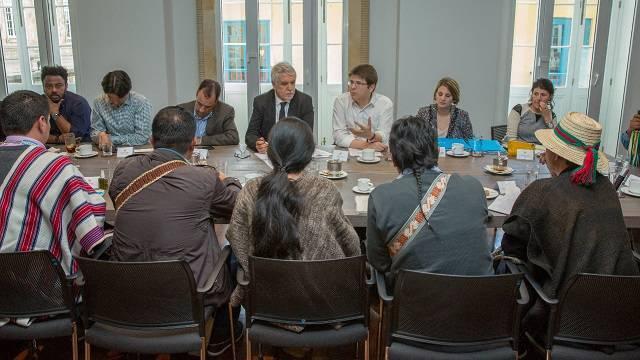 Encuentro del Alcalde Peñalosa con los cabildos