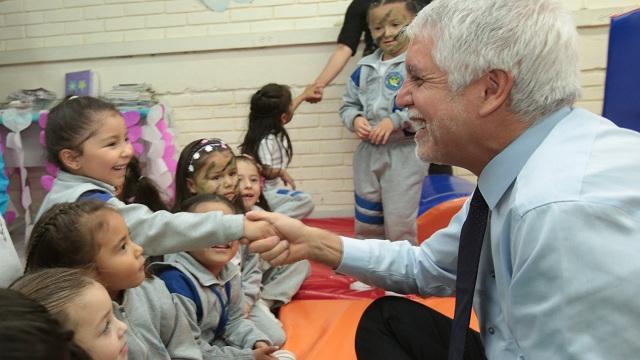 Peñalosa entrega balance exitoso de atención a primera infancia - Foto: Alcaldía Mayor de Bogotá