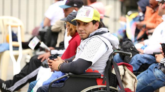 Persona con discapacidad - Foto: Alcaldía Mayor