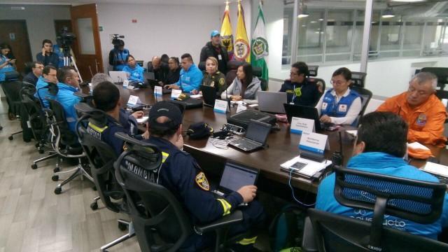 Plan de emergencias - FOTO: Prensa Secretaría de Seguridad