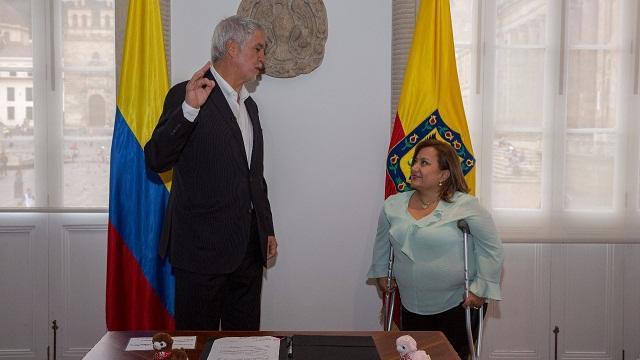Posesión directora Instituto de Bienestar Animal - Foto: Comunicaciones Alcaldía Bogotá