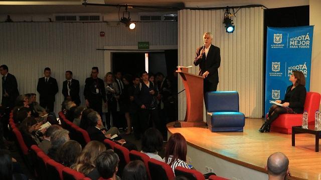 Presentación programa de estímulos 2018 - Foto: Comunicaciones Alcaldía Bogotá / Diego Bauman