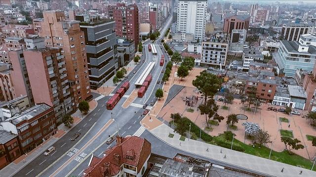Proyecto revitalización de la Carrera Séptima - Foto: Prensa IDU