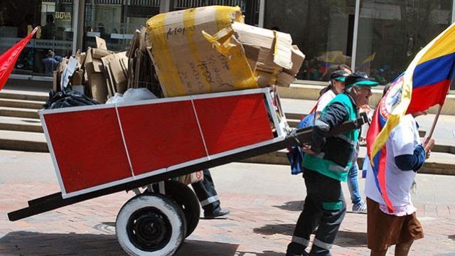 En Bogotá hay más de 70 organizaciones de recicladores.