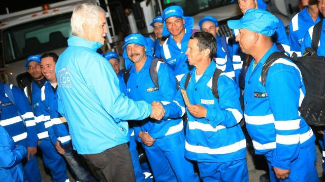 Recorrido alcalde Peñalosa - FOTO: Consejería de Comunicaciones