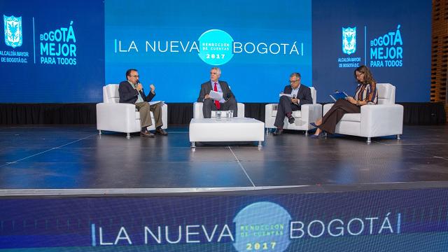 Rendición de cuentas Alcaldía Bogotá 2017 - Foto: Alcaldía Peñalosa