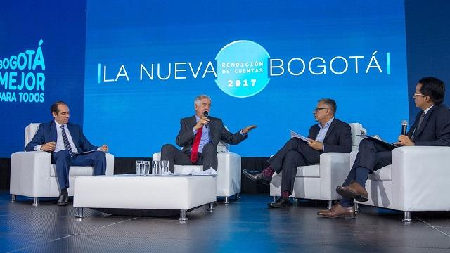 Rendición de cuentas de la gestión de la alcaldía de Enrique Peñalosa - Foto: Comunicaciones Alcaldía / Andrés Sandoval
