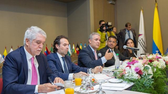 Nuevo encuentro de la Asociación Colombiana de Ciudades Capitales - Foto: Comunicaciones Alcaldía Bogotá / Andrés Sandoval