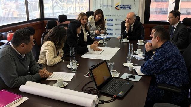 Reunión entre IDU y MinJusticia - Foto: Prensa IDU