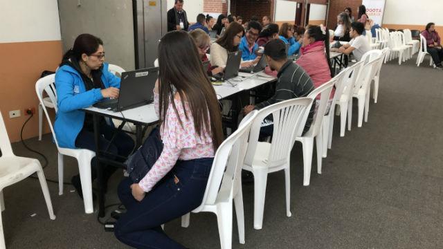 Rueda de empleo - Foto: bogota..gov.co