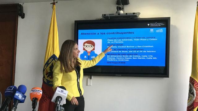 Secretaria de Hacienda - Foto: bogota.gov.co