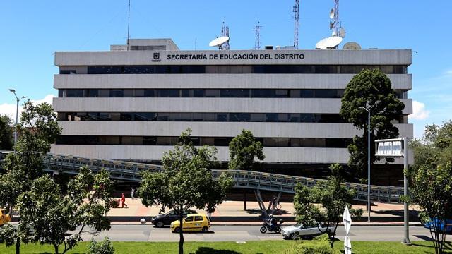 Sede Secretaría de Educación de Bogotá