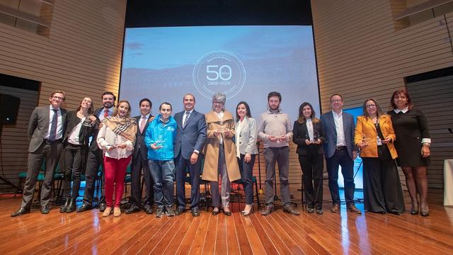 Secretaría General de Bogotá celebra el cumpleaños 50
