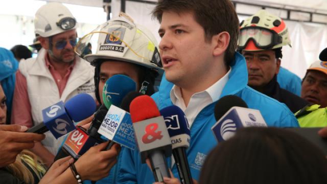 Entrega de ayudas a familias en Suba - FOTO: Prensa Secretaría de Gobierno