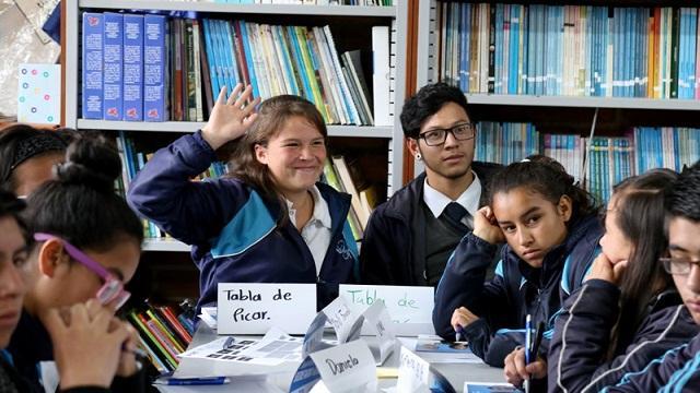 Estudiantes de colegios rurales participan en Simonu - Foto: Comunicaciones Secretaría de Educación