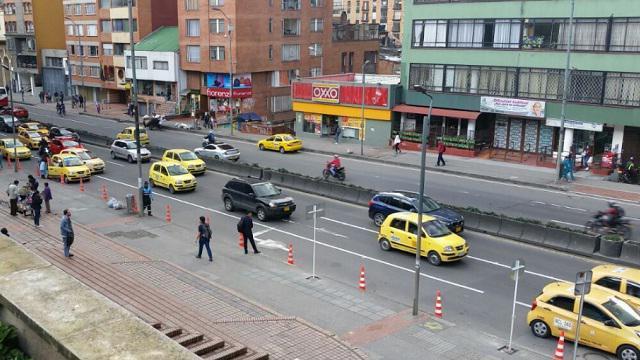 En 23 por ciento disminuyeron fatalidades con taxis en Bogotá. Secretaría de Movilidad