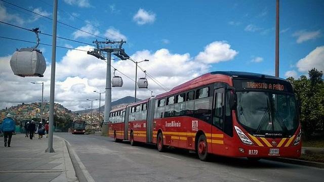 Adjudicada licitación nuevos buses de TransMilenio