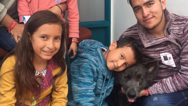 Decenas de familias ahora tienen un nuevo mejor amigo.