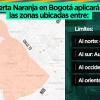 Alerta Naranja en suroccidente de Bogotá continúa