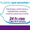 Línea Púrpura ha atendido más de 20 mil llamadas - Imagen: Secretaría de la Mujer