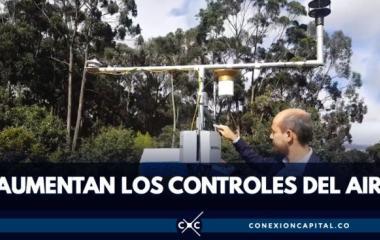 Imagen relacionada a la noticia Inauguran una nueva estación de monitoreo del aire en Bogotá