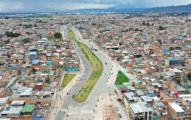 Imagen relacionada a la noticia Conozca la avenida Tabor en Suba, que estrena la ciudad