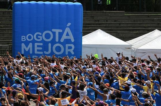 Aeróbicos en Bogotá - Foto: Prensa Idrd