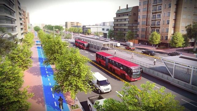 Render troncal Avenida 68 - Foto: Prensa IDU