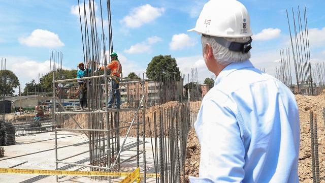 Construcción de colegios en Bogotá ha generado 6.400 empleos - Foto: Comunicaciones Alcaldía Bogotá