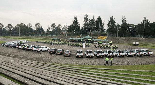 Inversión en seguridad para Bogotá