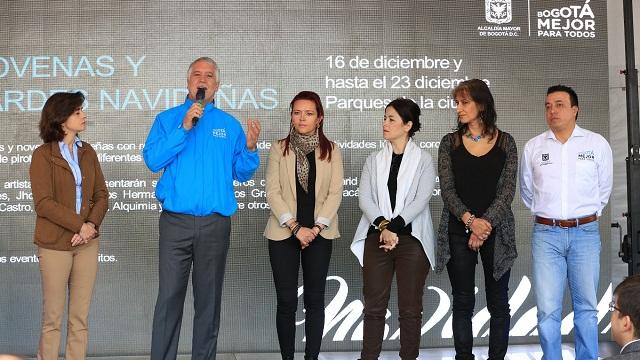 Presentación actividades de Navidad en Bogotá - Foto: Comunicaciones Alcaldía / Diego Bauman