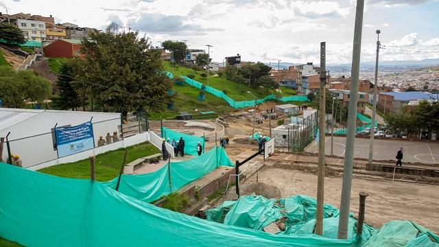 Entrega canchas localidad de Rafael Uribe Uribe - Foto: Comunicaciones Alcaldía Bogotá / Andrés Sandoval