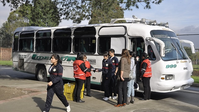 Avanza proceso de contratación de rutas escolares para colegios oficiales - Foto: Secretaría de Educación