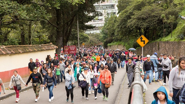 Actividades de Semana Santa en Bogotá - Foto: Comunicaciones Alcaldía Bogotá