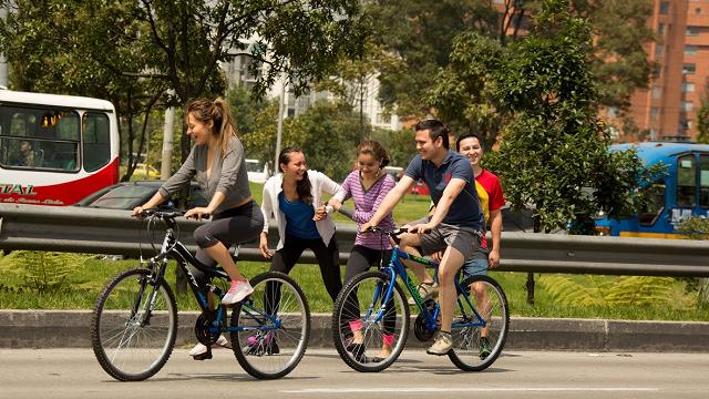 Más ciudadanos se transportan en bicicleta - Foto: Alcaldía Mayor de Bogotá
