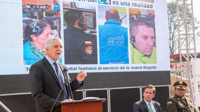 Centro de Comando y Emergencias C-4 - Foto: Alcaldía Mayor de Bogotá/Andrés Sandoval