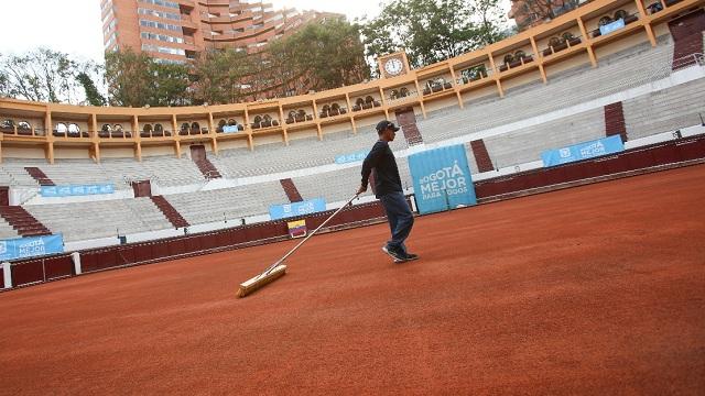 Lista la Santamaría para la Copa Davis - Foto: Alcaldía Mayor de Bogotá/Diego Baumán