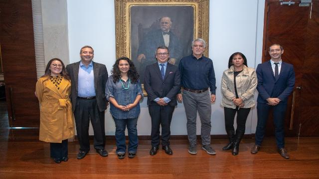 Visita delegación francesa - FOTO: Consejería de Comunicaciones