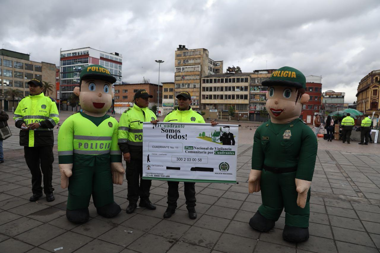 Seguridad en 200 puntos de la ciudad - Foto: Prensa Secretaría de Seguridad